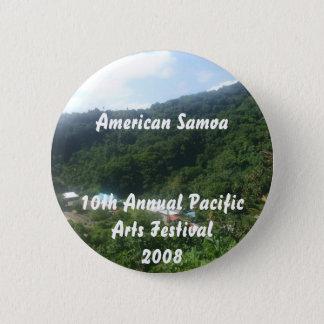 triparoundtown 100, American Samoa10th Annual P... Pinback Button