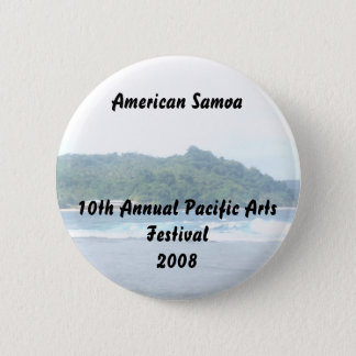 triparoundtown 130, American Samoa10th Annual P... Pinback Button