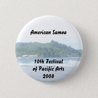 triparoundtown 130, American Samoa... - Customized Pinback Button