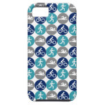 TriPhone (teal/navy/grey) iPhone 5 Cover