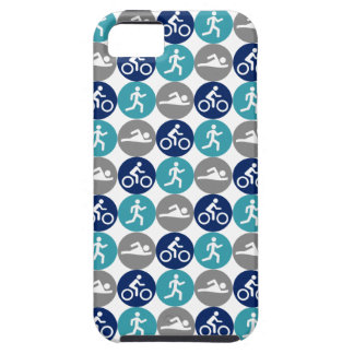TriPhone (teal/navy/grey) iPhone SE/5/5s Case