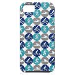 TriPhone (trullo/marina de guerra/gris) iPhone 5 Case-Mate Cobertura
