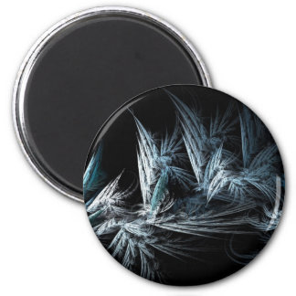Tripix Design 0002 - Feathery Dreamland 2 Inch Round Magnet