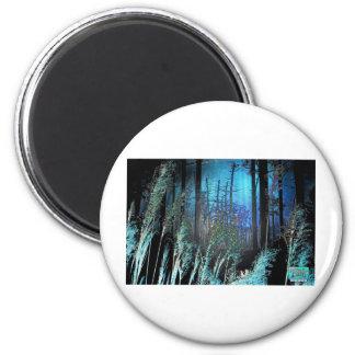 Tripix Design 0018 - Supernatural Floresta 2 Inch Round Magnet