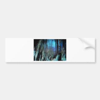 Tripix Design 0018 - Supernatural Floresta Car Bumper Sticker