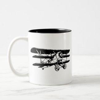 Triplane Two-Tone Coffee Mug