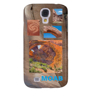 Triple Arches and Moab Photo Template Samsung Galaxy S4 Case