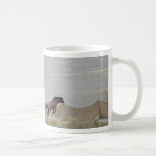 Triple B round up Horses Escape August 2011 Coffee Mugs