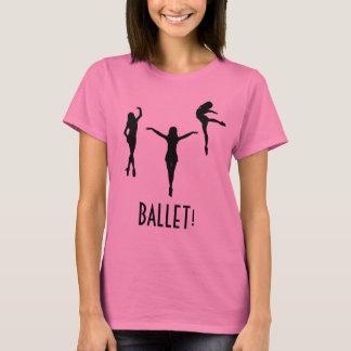 Triple Ballerina T-shirt - BALLET!