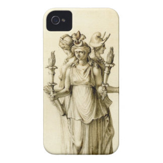 Triple-Bodied Hecate iPhone 4 Case-Mate Case