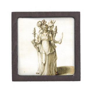 Triple-Bodied Hecate Premium Jewelry Boxes