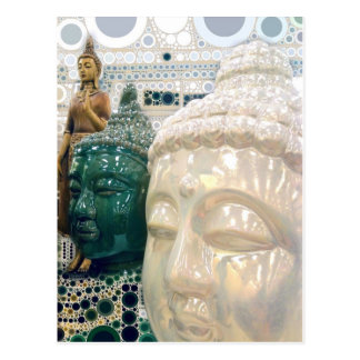 Triple Buddha Postcard