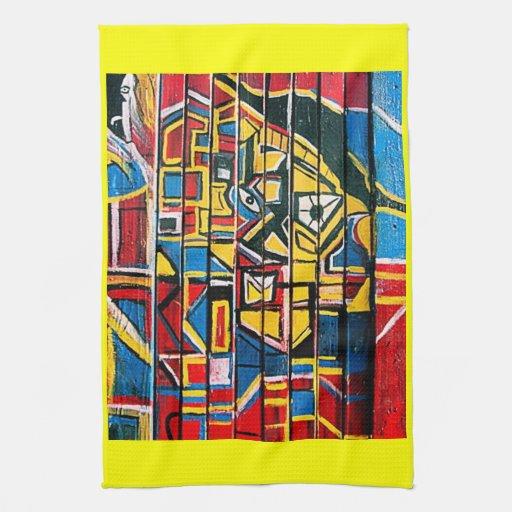 TRIPLE CANDY FLIPPED KITCHEN TOWELS