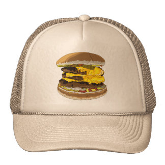 Triple Cheeseburger Trucker Hat
