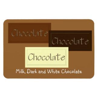 Triple Chocolate Premium Magnet
