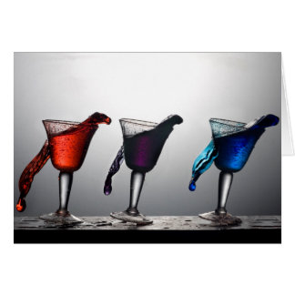 Triple Cocktail Spill 2 Card