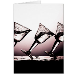 Triple Cocktail Spill 3 Card
