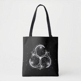Triple Crescent Moons Tote Bag