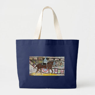 TRIPLE CROWN 1973 LARGE TOTE BAG