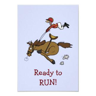 Triple Crown Horse Race Party Invitation