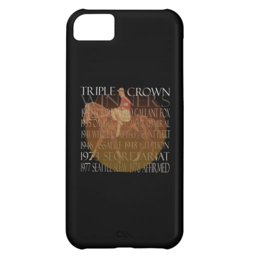 Triple Crown Winners Gifts & Party Supplies iPhone 5C Covers