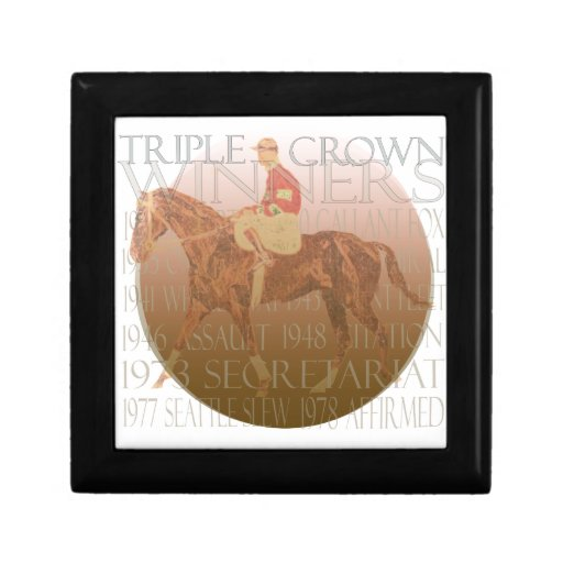 Triple Crown Winners Gifts & Party Supplies Jewelry Boxes