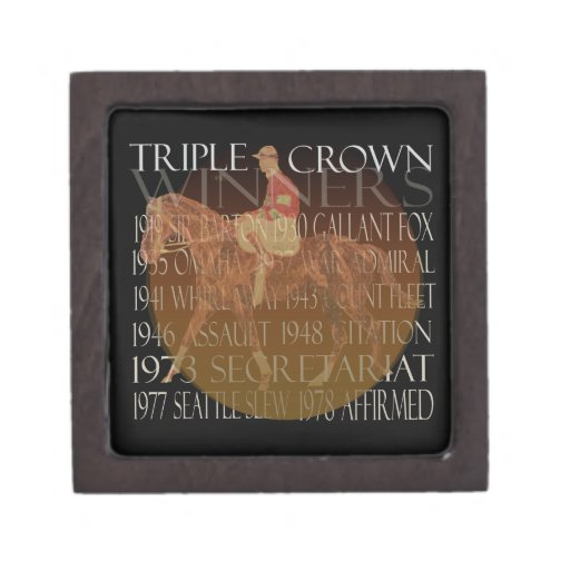 Triple Crown Winners Gifts & Party Supplies Premium Gift Box