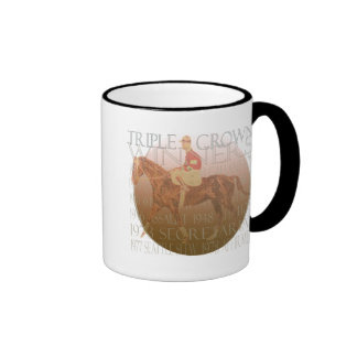 Triple Crown Winners Gifts & Party Supplies Ringer Coffee Mug
