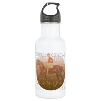 Triple Crown Winners & Party Supplies Stainless Steel Water Bottle