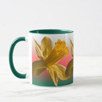 Triple Daffodil Mug