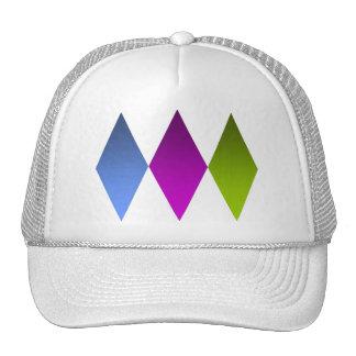 Triple Diamnds Trucker Hat