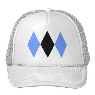 Triple Diamonds Trucker Hat