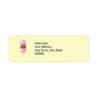Triple Dip Address Label