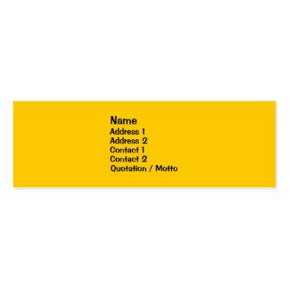 Triple Diversity Profile Card Mini Business Card