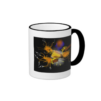 """Triple Eccentricity"" Ringer Mug"