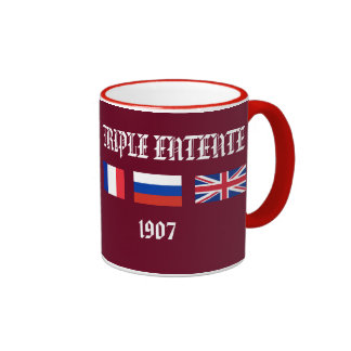 Triple Entente Poster Mug