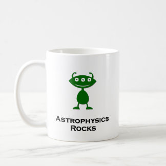 Triple Eye Astrophysics Rocks green Coffee Mug