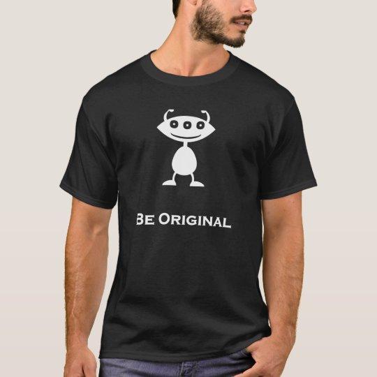 Triple Eye Be Original white T-Shirt