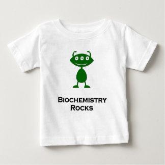 Triple Eye Biochemistry Rocks green Baby T-Shirt