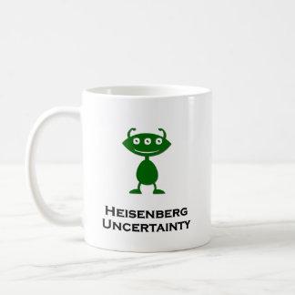 Triple Eye Heisenberg Uncertainty green Coffee Mug