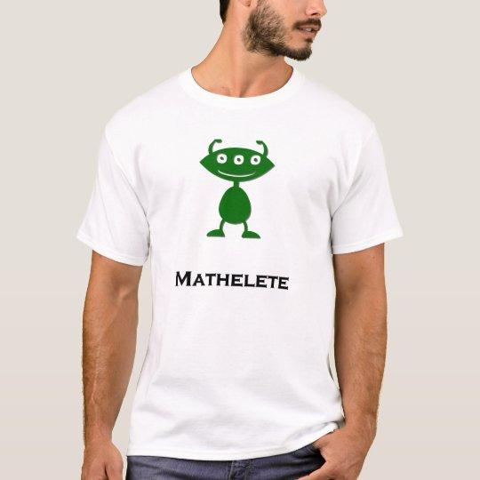 Triple Eye Mathelete green T-Shirt
