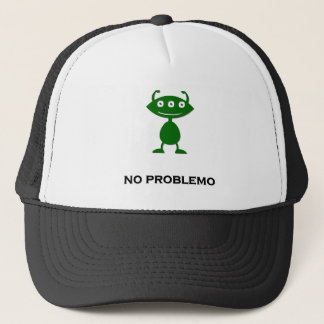 Triple Eye no problemo green Trucker Hat