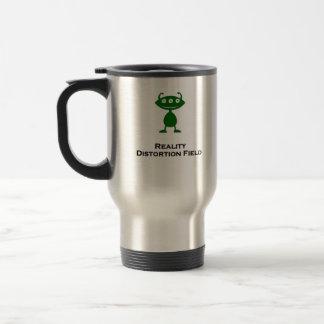 Triple Eye Reality Distortion Field green Travel Mug