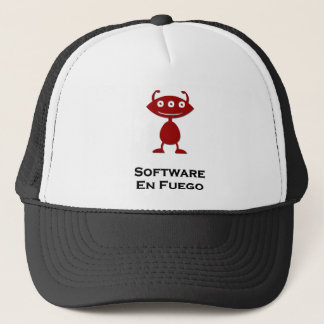 Triple Eye Software En Fuego red Trucker Hat