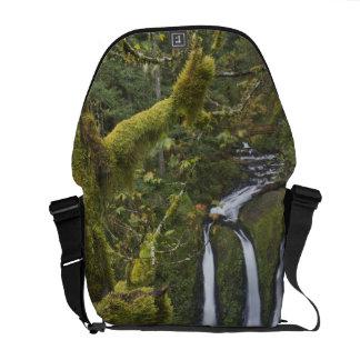 Triple Falls, Columbia River Gorge 2 Messenger Bag