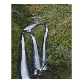 Triple Falls, Columbia River Gorge Poster