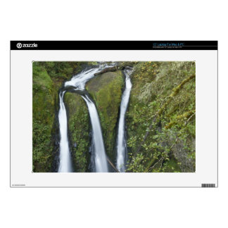 "Triple Falls, Columbia River Gorge Decal For 15"" Laptop"