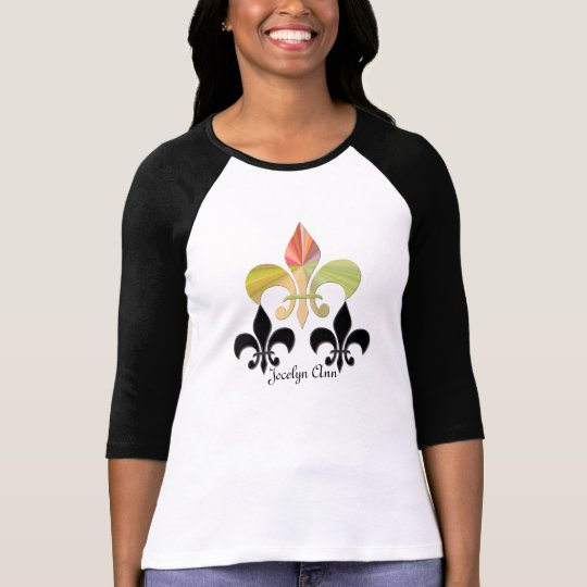 Triple Fleur-de-Lis (Personalized) T-Shirt