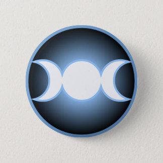 Triple Goddess Button