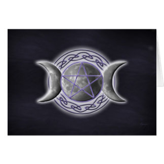 Triple Goddess Card